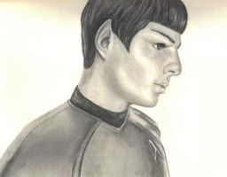 Spock by wickedtiger86
