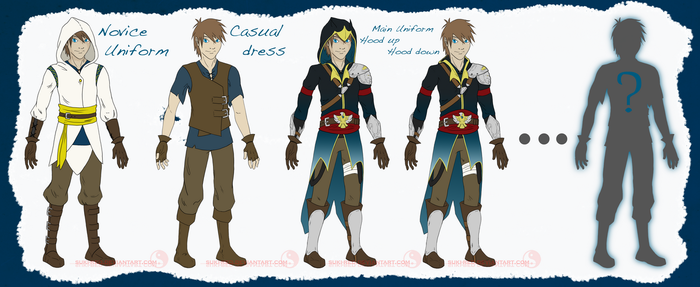 OC Malik's Outfits - 4 out of 8 by suki-red