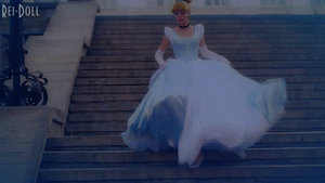 Cinderella Cosplay (gif) by Rei-Doll