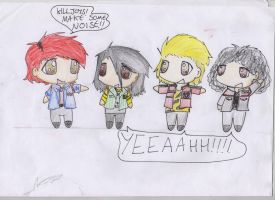 Killjoys, Make Some NOISE by xYamiKawaitax