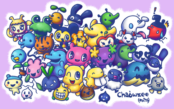 Tamagotchi - Version Two by Chaowzee