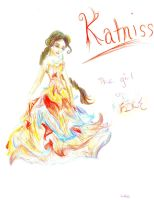 Katniss: The Girl on Fire by SuperSnuffles13