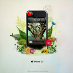 Apple iPhone 3G by caliiope