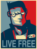 Motorcity - Live free Poster by markmak