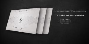 Hazardous Wallpapers by DarknesFreak