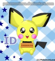 My Pichu deviant ID by PokemonLuva