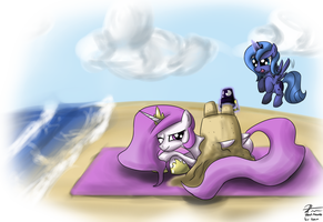 Once upon a beach by leadhooves