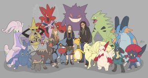 Ultimate Pokemon Teams - Complete by handraw