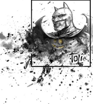 Batman Sketch by 7oti