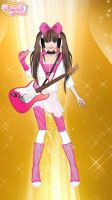 pink rock star as lillygmer by JedahDohmaPC
