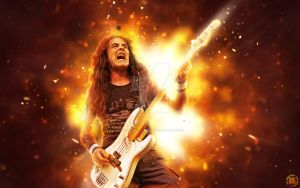 Steve Harris by croatian-crusader