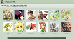 Best of my Art 2011 by PepperMoonFlakes