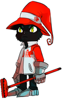 canadian curling veigar by PeppermintBat