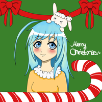 Christmas Gift: Keimi-chan~! by LariCat