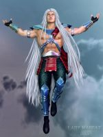 Fujin redesign by MadCat by ladymadcat
