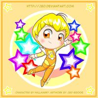 Chibi Canary Yellow by J8d