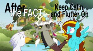 After the Fact: Keep Calm and Flutter On by MLP-Silver-Quill