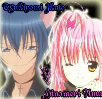 amu x ikuto by darkflames13