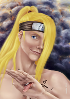 Deidara - Wanna play with me? by Lenurka