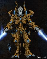 Starcraft 2 : Zealot by Darkounetlolz