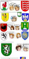 APH: Silly coats of arms by Cadaska