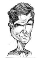 Pierce Brosnan sketch by kgreene