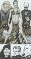 Star Wars sketch cards 03 by martheus