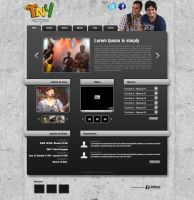 Layout - Banda Trio Nois 4 by lcdesigner