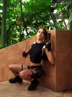 Lara Croft AOD cosplay - ambush by TanyaCroft