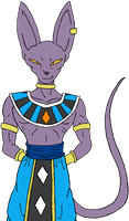 Lord Beerus by KaosJay666
