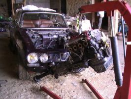Alfa Romeo GT1300 - Gutted... by TwistedMethodDan