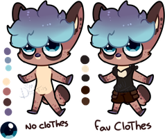 Chibi Ref by Damian-Fluffy-Doge