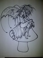 Faerie in progress... by ckatt01
