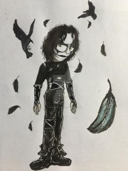 Eric Draven (The Crow) by Mika-Raccoon