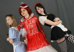 Alice (s) and the red queen 2 by MajesticStock
