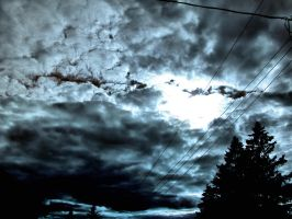 Nature_sky_dark_blue clouds by Aimelle-Stock