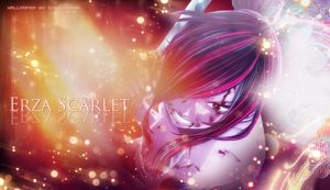 Erza Scarlet Wallpaper by ChenJing35