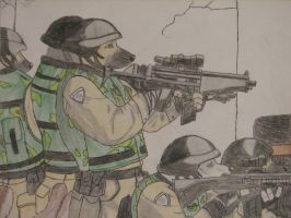 Special Mexico forces by ElPonyFurry