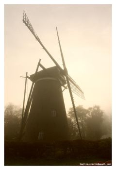 dutch windmill by setdown