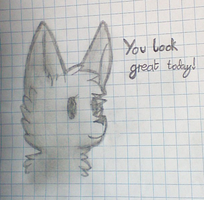 You Look Great Today by LuckyZorua