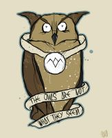 Twin Peaks.. The Owls.. by knightmaredesign