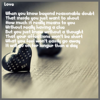 Love by Words-from-my-Soul