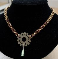 Byzantine Gear Necklace by Ichi-Black