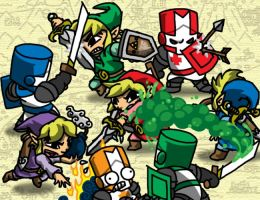Sword Crashers by professorhazard