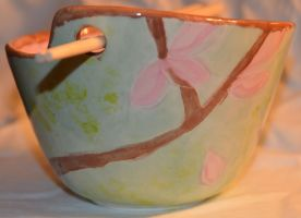 Cherry Blossom Bowl Side 1 by Wingedisis16