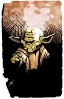 Yoda by Shadowrenderer