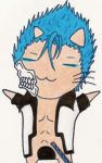 Kitty Cat Grimmjow by Stephy-McFly