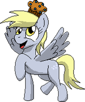 Derpy Hooves Sprite by RocaN64