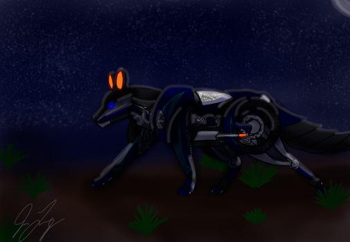 In the Glow of the Night by TaintedTamer