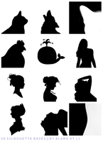 30 Silhouttes by Bourniio